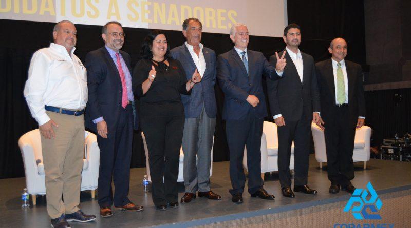 Realiza Coparmex Foro Cívico con candidatos al Senado