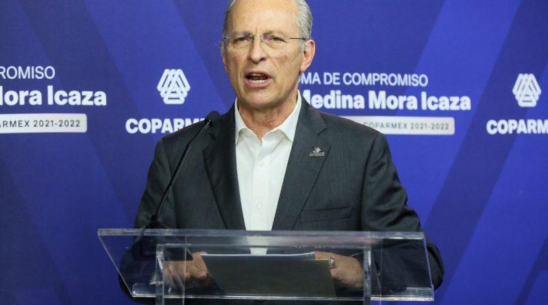 No podemos dejarle todo el peso al gobierno; COPARMEX pondrá su granito de areana para superar la crisis.- Medina Mora